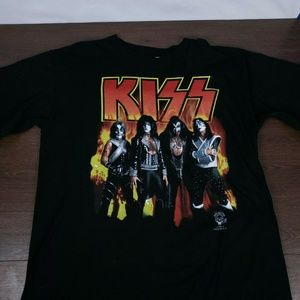 KISS Alive Worldwide Concert TShirt XL 90s Vintage